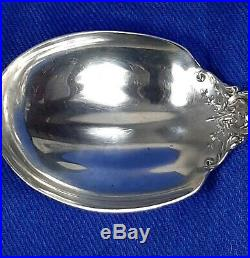 1 Antique sterling 9+1/2 serving spoon by Reed&Barton Francis 1 pattern