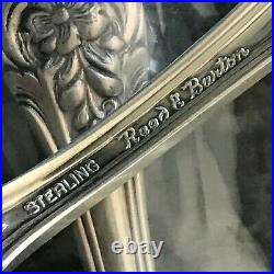 1 NEW REED BARTON STERLING SILVER FRANCIS I TEA SPOON 6 39g (QTY 11 AVAIL) w38