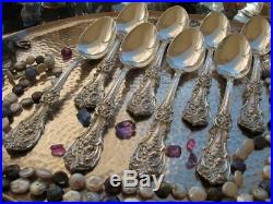 1 Sterling Silver Place Oval Soup Spoon 7.25 Reed Barton Francis Flatware Heavy