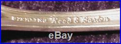 10 Reed & Barton Francis I Sterling Silver Ice Cream Forks Old Hallmark No Mono