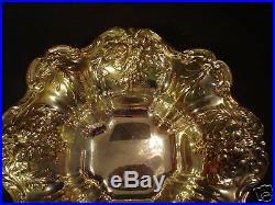1941 Reed & Barton Sterling Silver Francis I 8 Bon Bon Bowl, 298 Grams