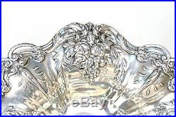 1952 Reed & Barton Francis I X567 Sterling 11 1/2 Footed Compote / Centerbowl