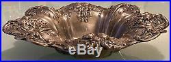1955 Reed & Barton X569 Francis I Pattern Repoussé Sterling Silver 8 Bowl 295g