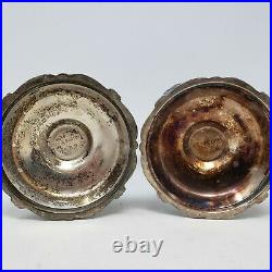 2 Vintage Reed & Barton King Francis Silverplate Water Goblets 1659 6.25 Tall