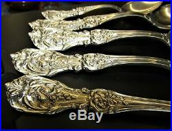 4 7 1/4 FRANCIS REED & BARTON OVAL SOUP SPOON & 1 Demitasse STERLING SILVER