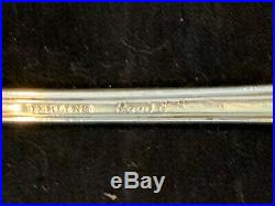 4 Reed & Barton Francis I Sterling Silver Flatware Set of 4 SEAFOOD FORKS