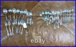 48 Piece Set Reed & Barton Francis I Sterling Silver Flatware Set