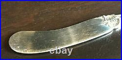 6 FRANCIS 1 by Reed & Barton Sterling Silver Butter Spreaders No Mono Old Mark