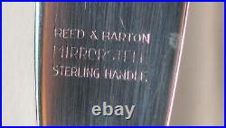 8 Reed Barton Francis 1st Sterling Butter Knves Hollow Handle