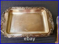 Antique REED & BARTON Silverplated KING FRANCIS Serving Dish/Casserole JA