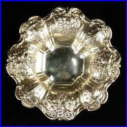 Antique Reed & Barton Francis I X 569 Candy Dish Silver Bowl