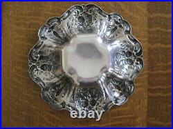 Antique Reed & Barton Francis I X569 Sterling Candy Dish Bowl
