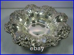 ESTATE Reed & Barton Francis I Sterling Silver 8 Bon-Bon Dish 320g