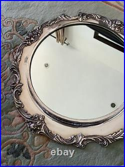 Elegant Antique Reed & Barton Silverplate King Francis I Plateau