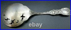 FRANCIS I BY REED & BARTON STERLING SILVER Large Slotted Spoon 8 1/4 L 91.5g