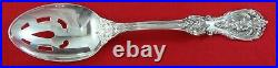 FRANCIS I by Reed & Barton Sterling Silver SLOTTED (Pierce) SERVING SPOON, 8 3/8