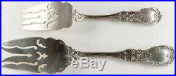 Francis 1st Reed & Barton Sterling Silver Large & Small Cold Meat Forks