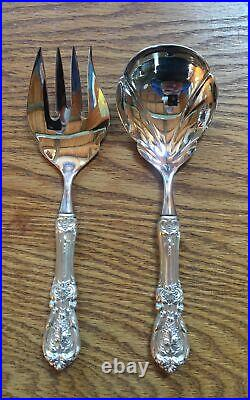 Francis 1st by Reed Barton Sterling Handle 2 Piece Salad Set
