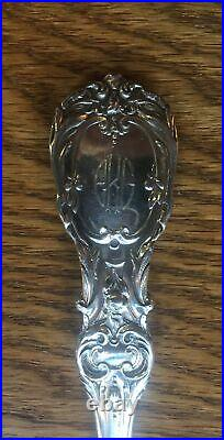 Francis 1st by Reed Barton Sterling Waffle Server Old Mark Patent Date Monogram