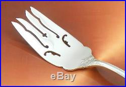 Francis I 1st Sterling Silver 8 Meat Serving Fork Pierced Reed Barton Nice USA