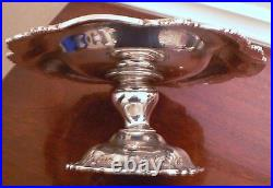 Francis I By Reed & Barton Old Cornucopia Raised Sterling Silver Compote 11