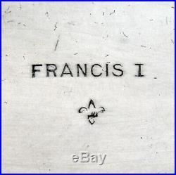 Francis I Centerpiece Bowl Reed Barton Sterling Silver 1930 Mono