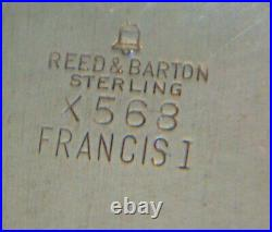 Francis I Reed Barton Sterling Silver Bread Tray 7 (2)