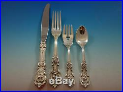 Francis I Reed & Barton Sterling Silver Script Mark Place Setting(s) 4pc