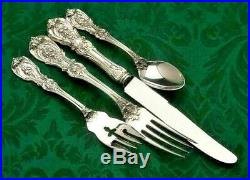 Francis I Sterling Silver by Reed & Barton 4 piece Place Setting, french Blade