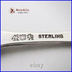 Francis I Sugar Tongs Sterling Silver Reed Barton Old Mark 1907