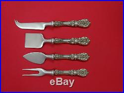 Francis I by Reed & Barton Sterling Cheese Serving Set 4 Piece HHWS Custom