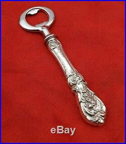 Francis I by Reed & Barton Sterling Custom Made Bottle Opener and Ice Scoop