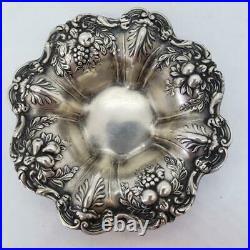 Francis I by Reed & Barton Sterling Silver Individual Nut Bon Bon Dish X569