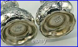 Francis I by Reed & Barton Sterling Silver pair of Salt & Pepper Shakers X571