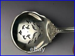 Francis I by Reed & Barton sterling silver Pea Server large Pierced 9.25