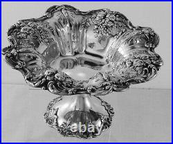 Francis I by Reed & Barton sterling silver pedestal compote, X568, No Mono