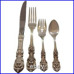 Francis I by Reed and Barton Sterling Silver Flatware Set Service 40 pcs Dinner