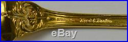 Gold Francis the 1st by Reed & Barton Sterling Silver Oval Soup Spoon 6 5/8