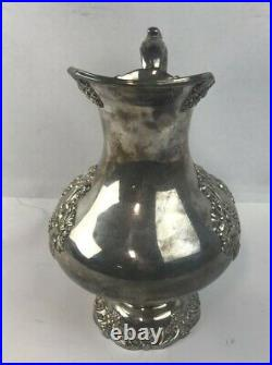 KING FRANCIS 1658 Estate Reed & Barton Silverplated Water Pitcher No Mono