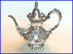 King Francis Reed & Barton Silver-plate 1651 Premier Tea Pitcher Mint Vintage