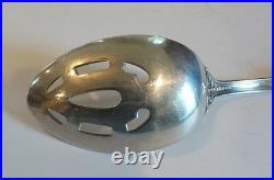 LOVELY REED & BARTON FRANCIS I 8.5 PIERCED SERVING SPOON, OLD MARK, 95 grams