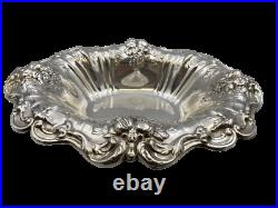 Large Reed & Barton Sterling Silver Oval Vegetable Bowl in Francis I Pattern
