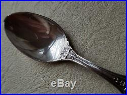 Lot of 4 Reed & Barton FRANCIS I Sterling Silver Demitasse Spoon 4 1/4 New Mark