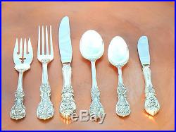 New Perfect Reed Barton Francis I 1st Sterling Silver 6 PC Place Setting 1940
