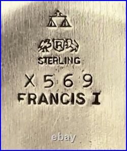 Pair of Reed & Barton Francis I Sterling Silver Bowls X569