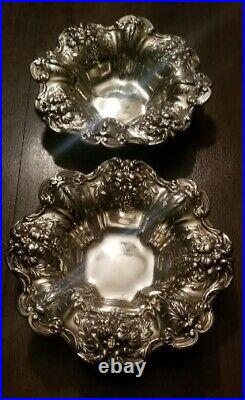 Pair of sterling Reed and Barton bowls marked Francis approx 8