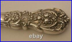 RARE Reed & Barton Francis I SOLID Sterling Silver Pie Server STERLING BLADE