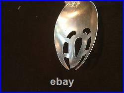 REED AND BARTON FRANCIS I i 1 SOLID STERLING SILVER SLOTTED VEGETABLE SPOON