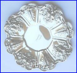 REED & BARTON FRANCIS I STERLING 11 1/2 UNDER PLATE PLATTER X569 withMONOGRAM P