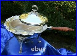 REED & BARTON Silverplate KING FRANCIS 22 Serving Pieces CHECK EACH PIECE OUT